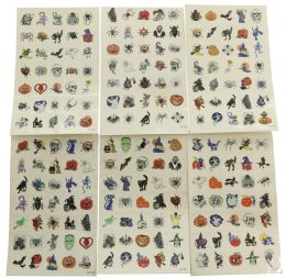 96 Units of Temporary Tattoos Assorted - Tattoos and Stickers
