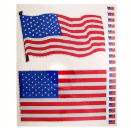 96 Units of Patriotic Stickers - 4th Of July