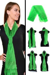 36 Units of Green Fashion Scarf - Womens Fashion Scarves