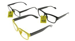 48 Units of Assorted Rectangular Reading Glasses - Reading Glasses