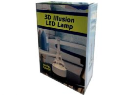 12 Units of Eiffel Tower 3d Illusion Lamp - Electronics