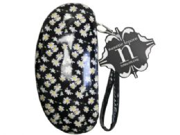 36 Units of nanette lepore sunglasses case in white  and  yellow floral prin - Eyeglass & Sunglass Cases