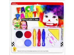 72 Units of Face Paint Makeup Kit - Art Paints
