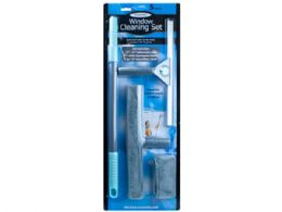 6 Units of 5 Piece Telescopic Window Cleaning Set - Dusters