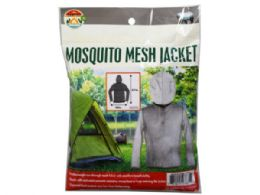 12 Units of Mosquito Mesh Jacket W/face Mask - Face Mask