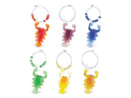 108 Units of Lobster Glass Wine Charms - Kitchen Tools & Gadgets