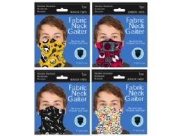 120 Units of Junior / Kids Music Style Neck Gaiter - Sporting and Outdoors