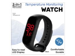 6 Units of Wristwatch Skin Surface Thermometer - Home Accessories
