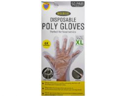 9 Units of 100 pack xlarge tpe glove - Working Gloves