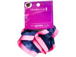 108 Units of Neon Scrunchie in Assorted Colors - Hair Scrunchies
