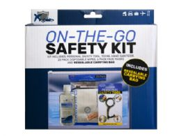 36 Units of On The Go Safety Kit - Personal Care Items