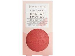 72 Units of Sunday Rain Clear View 100% Natural Konjac Sponge - Assorted Cosmetics