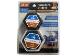 36 Units of 8 Piece Padded Furniture Sliders - Hardware