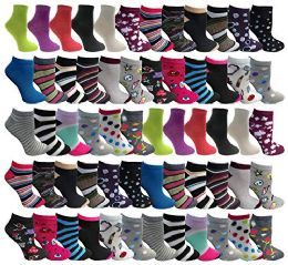 60 Units of Yacht & Smith Low Cut Socks Thin Comfortable Lightweight Breathable Sport Socks, Womens size 9-11 - Women's Socks for Homeless and Charity