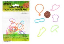 192 Units of Apparel Shaped Ring Silly Bands - Rings