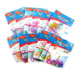 192 Units of Summer Shaped Ring Silly Bands - Rings