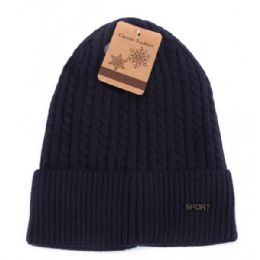 24 Units of Mens Winter Hat With Fur - Winter Beanie Hats