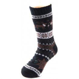 48 Units of Men's Winter Sock - Mens Thermal Sock