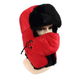 36 Units of Winter Trapper Hat With Fur - Trapper Hats