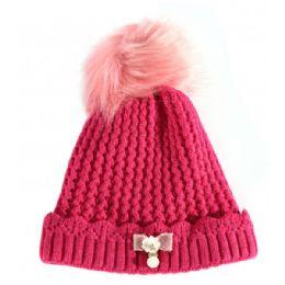 36 Units of Kids Winter Hat With Fur - Junior / Kids Winter Hats