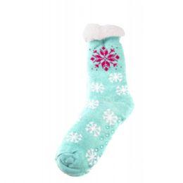 24 Units of Womens Winter Sock - Womens Thermal Socks