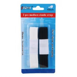 96 Units of 2 Piece Elastic Tape - Sewing Supplies