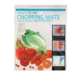72 Units of Set Of 2 Flexible Chopping Boards - Cutting Boards