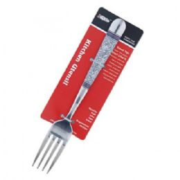 60 Units of Printed Silver Fork - Kitchen Utensils