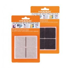 60 Units of 4 Piece Non Slip Adhesive Skid Protector - Home Accessories