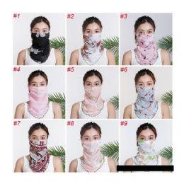 60 Units of Neck Gaiter Scarf - Face Mask