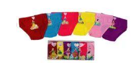 36 Units of Girls' Cotton Panty - Girls Underwear and Pajamas