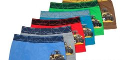 36 Units of Boy's Seamless Boxers - Boys Underwear
