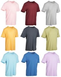 27 Units of Yacht & Smith Mens Assorted Color Slub T Shirt With Pocket - Size XL - Mens T-Shirts