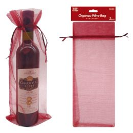 120 Units of 2 Count Wine Bag - Gift Bags Everyday