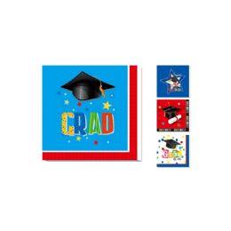 120 Units of 20 Count Napkin Graduation - Graduation