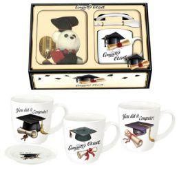 24 Units of Graduation Set Assorted Design - Graduation