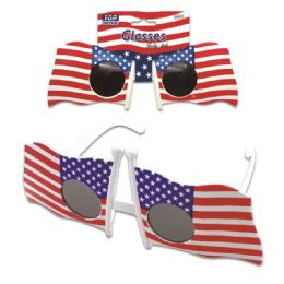 96 Units of July 4th Glasses - Seasonal Items
