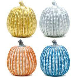 72 Units of Harvest Pumpkin Decoration - Halloween & Thanksgiving