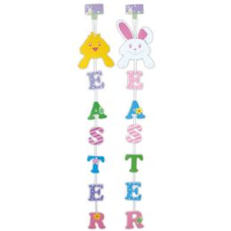 96 Units of Easter Hanging Decoration - Easter