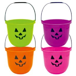 120 Units of Assorted Halloween Bucket - Halloween & Thanksgiving