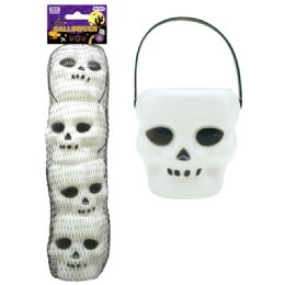 96 Units of Four Count Halloween Skull - Halloween & Thanksgiving