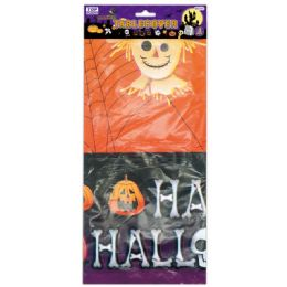144 Units of Halloween Table Cover - Halloween & Thanksgiving