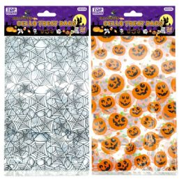 144 Units of Halloween Cello Bag - Halloween & Thanksgiving