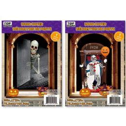 144 Units of Halloween Door Cover - Halloween & Thanksgiving