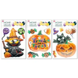 96 Units of Halloween Sticker - Halloween & Thanksgiving