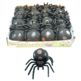 120 Units of Squeeze Spider - Halloween & Thanksgiving