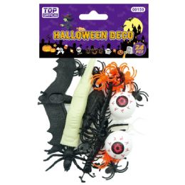 120 Units of Halloween Decoration Set - Halloween & Thanksgiving