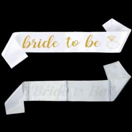 120 Units of Bride To Be Straps - Wedding & Anniversary