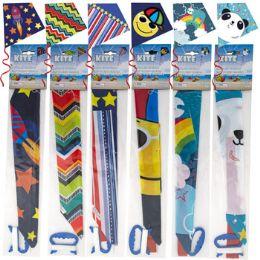 48 Units of Kite Plastic Diamond Shape - Summer Toys