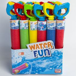 24 Units of Water Blaster Foam 15.75in 4asst Colors - Water Guns